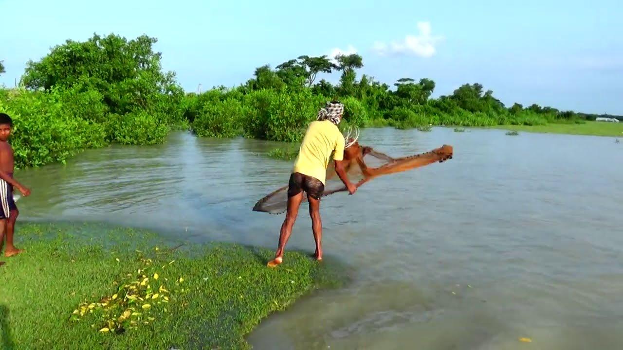 Amazing Net Fishing   Net Fishing In The Sea   Net Fishing In River (Part-405)