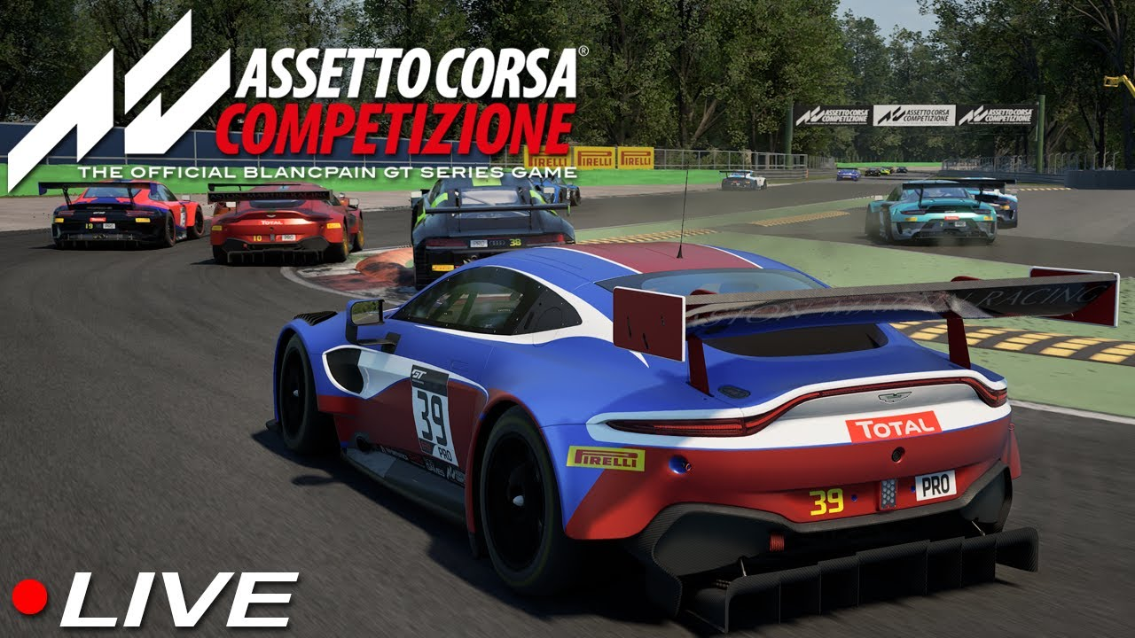 Dry Monza Race That Was Supposed To Be Wet - ACC AOR ...