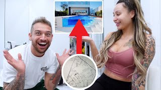 WHAT OUR BACKYARD IS GOING TO LOOK LIKE!! **mind blowing**