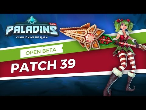 Paladins - Open Beta 39 Patch Overview