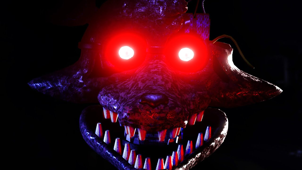 Scariest Foxy Ever Joy Of Creation Reborn 3 Youtube