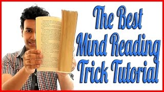 READING MINDS | Book Test Mentalism Tutorial - Predict ANYTHING!