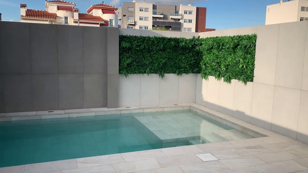 Diseño y construcción de piscina Ref. 3451