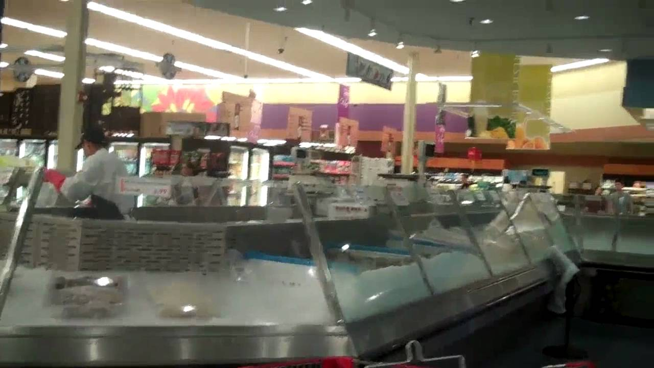 Come explore an asian food market super h mart in for Fresh fish market houston