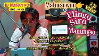 DJ Elingo Siro Manungso (Renno Slow Mix)