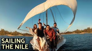WE SAILED THE NILE RIVER FOR 5 DAYS (Luxor to Aswan)