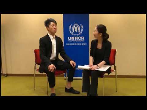 MIYAVI インタビュー20171120【UNHCR Japan 国連難民高等弁務官駐日事務所】