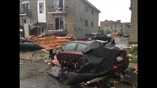 RAW AUDIO: Hundreds displaced in Gatineau following tornado