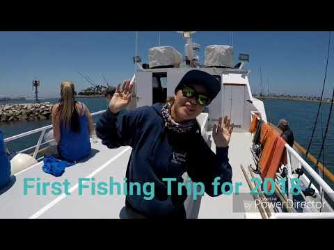 First Half Day Fishing Trip At New Seaforth, San Diego, Ca