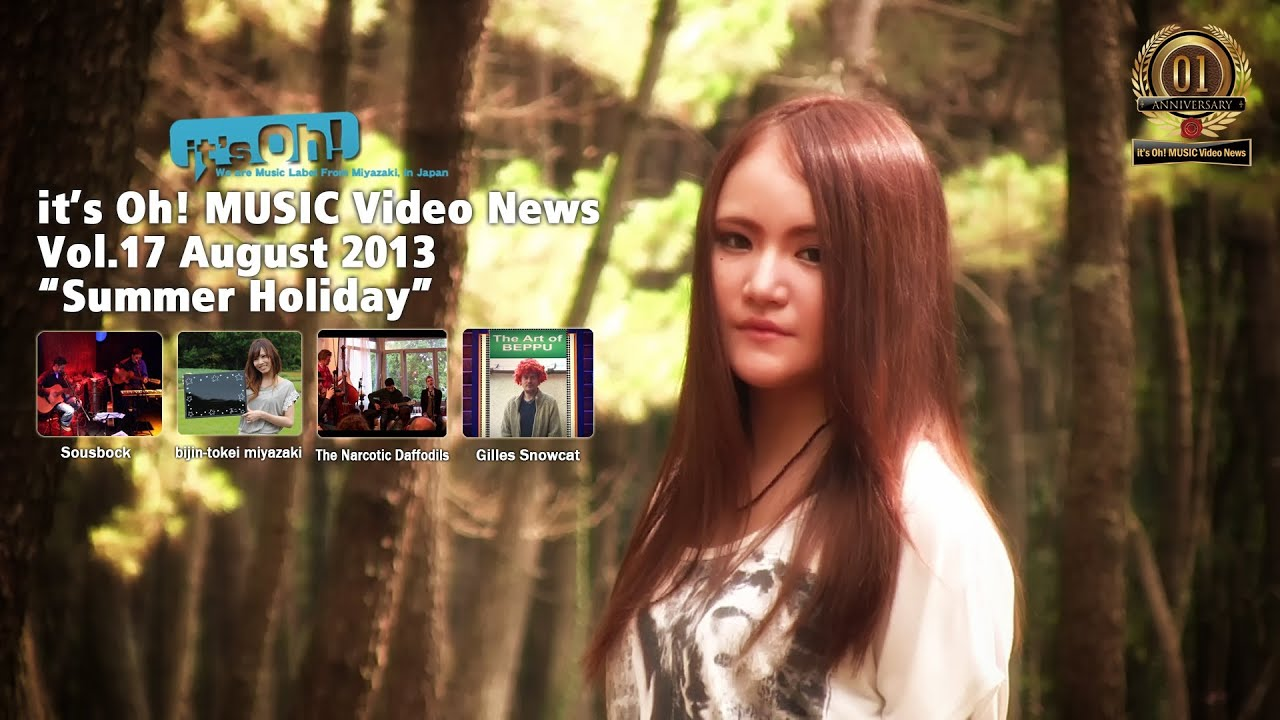 it's Oh! MUSIC Video News Vol.17 August 2013