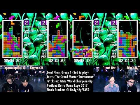 Round 2 CTWC Tetris Grandmaster Tournament 4-player Race