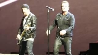Where the Streets Have No Name, U2, FedEx Field, Landover, Maryland...