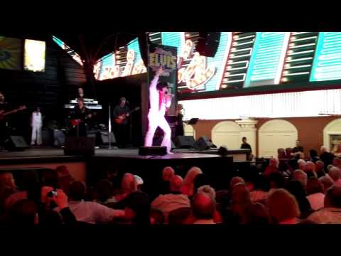 "John Gilpin - "" Little Sister "" - Ultimate Elvis Tribute - Las Vegas 2013"