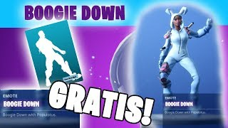 "HOW TO GET THE NEW ""BOOGIE DOWN"" FREE DANCE IN FORTNITE!!!"