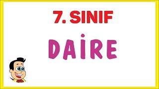 7. Sınıf Daire Şenol Hoca Matematik