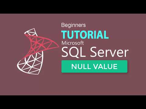 SQL SERVER : Working With Null Value