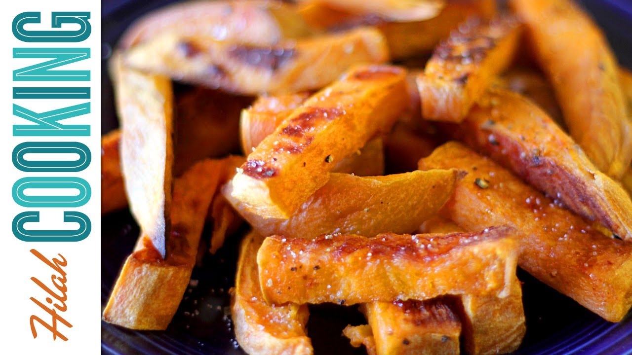 how to cook sweet potatoes in oven youtube