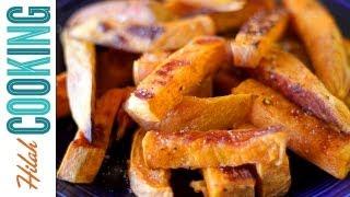 Sweet Potato Fries  | How To Make Sweet Potato Fries