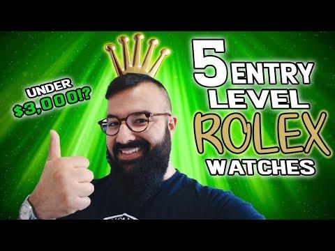 5 Entry Level Rolex Watches (Under $3,000?!)