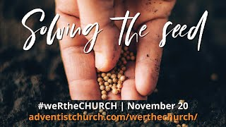#weRtheCHURCH Promo - November 20