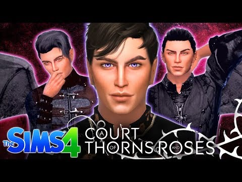 🌹🌙 A COURT OF THORNS + ROSES - In The Sims 4!🌹🌙
