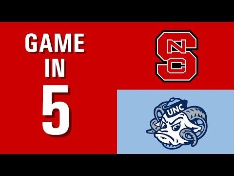 Game In 5 - Men's Lacrosse Vs. North Carolina (October 30th, 2019)