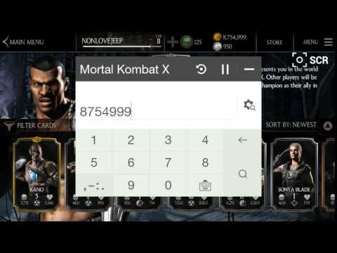 สอนโกงเกมส์ mortal combat x android