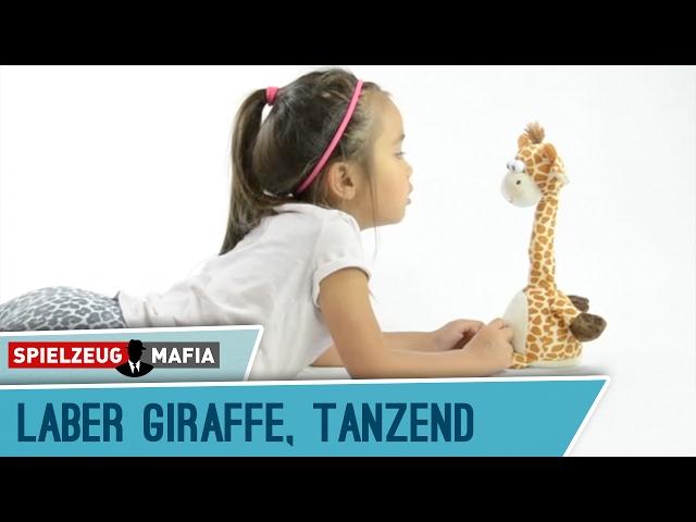 Laber-Giraffe tanzend, sprechendes Kuscheltier | spielzeugmafia.de Spielzeugtrends & -innovationen