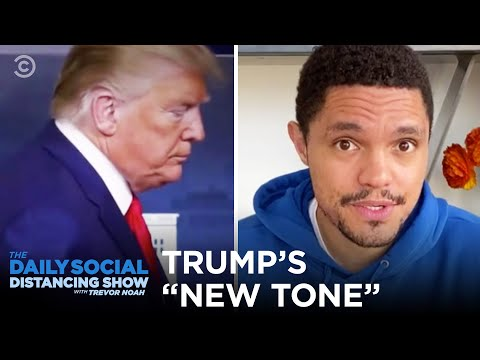 "Trump's ""New Tone"" On Coronavirus 