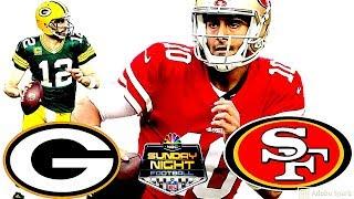 49ers VS. Packers Pump Up| Sunday Night Football Hype Week 12