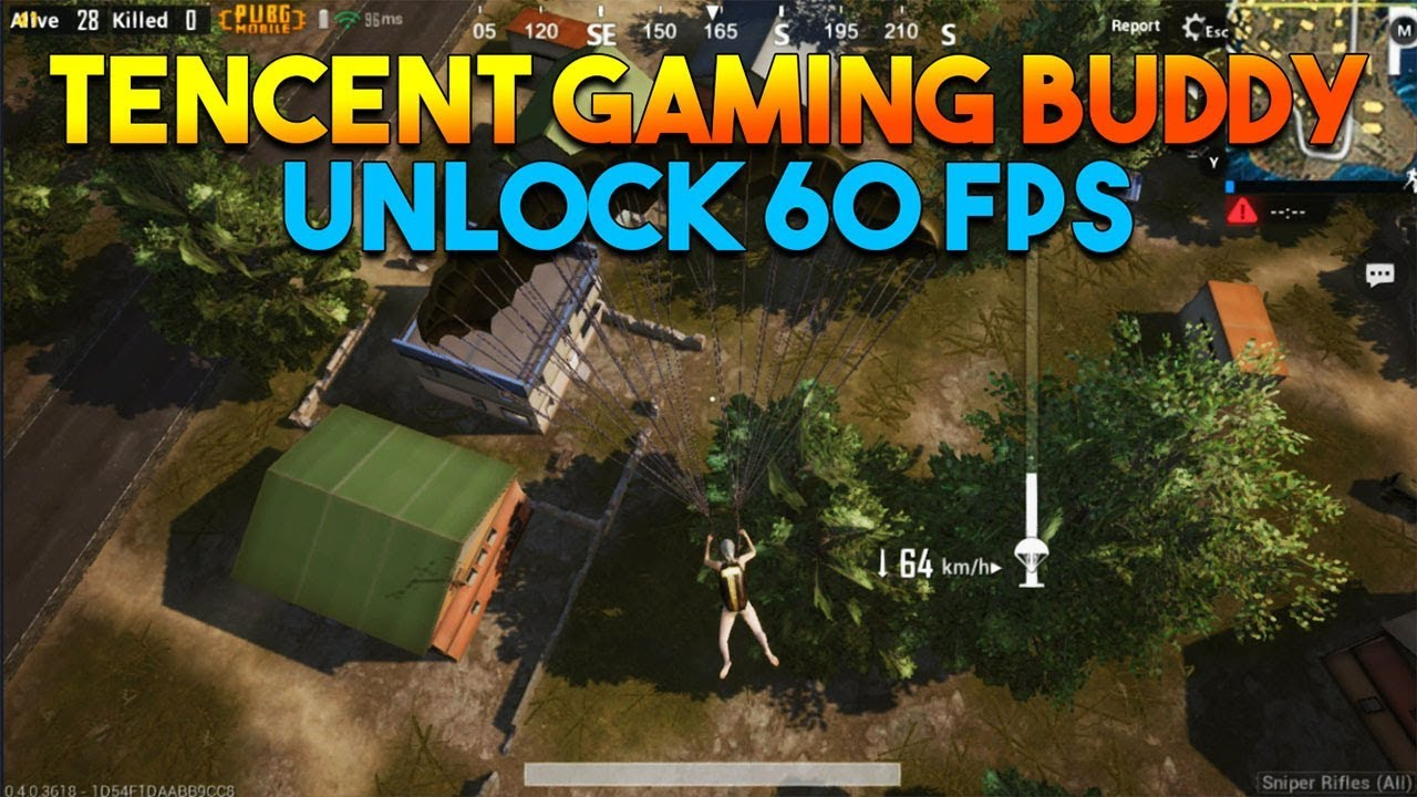 HOW TO UNLOCK 60 FPS ON TENCENT GAMING BUDDY (PUBG MOBILE GLOBAL)