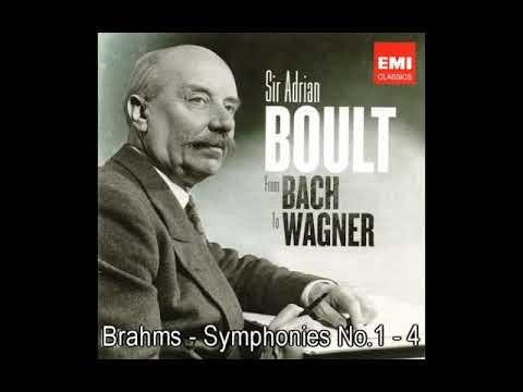 Brahms - Symphonies No.1-4, Sir Adrian Boult, LPO,LSO