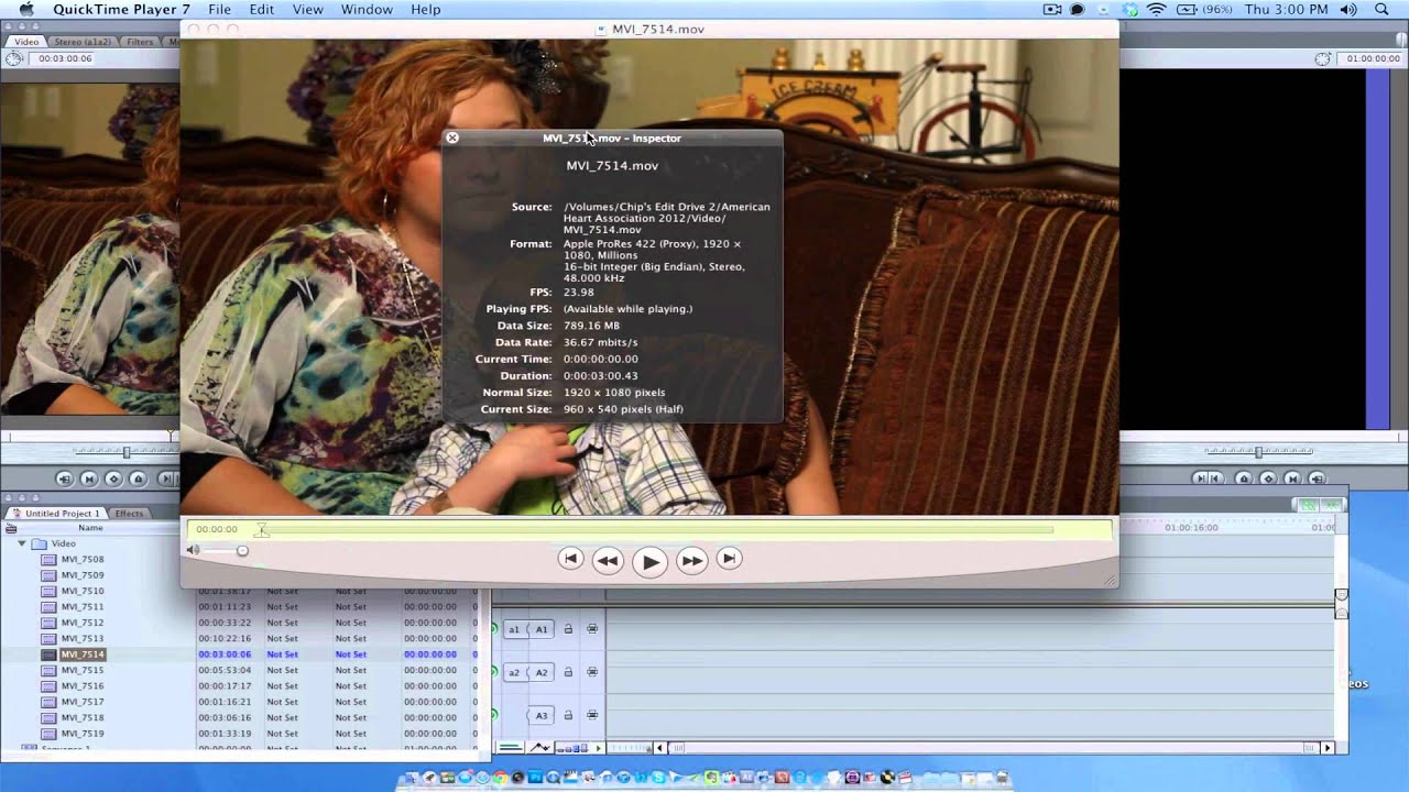 How to adjust the video size in Final Cut Pro 7 - YouTube
