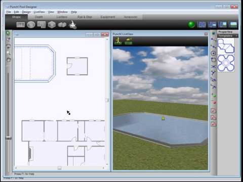 Architect 3D - Swimming pool tutorial