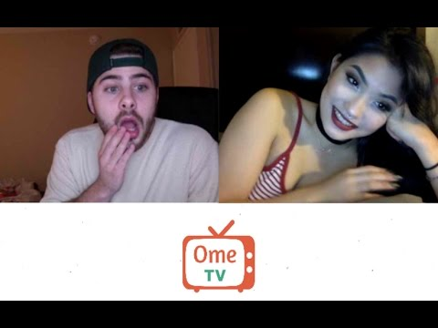 Raunchy chatroulette babe likes to fool around