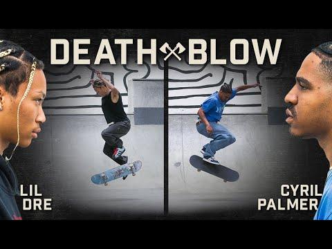 Lil Dre's Bigspin Backside 360 Vs. Cyril Palmer's Fakie Flip Body Varial | DEATH BLOW