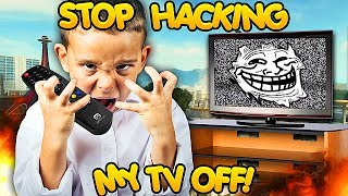 TROLLING KIDS BY TURNING OFF THEIR TVs WITH MODS! (Black Ops 2 Mods)