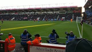 Dan Gosling Goal 2-2 AFC Bournemouth Vs Newcastle United