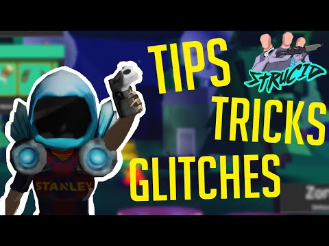 5 TIPS, TRICKS and GLITCHES to help you IMPROVE IN STRUCID! | Roblox Strucid