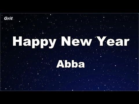 Karaoke♬ Happy New Year - Abba 【No Guide Melody】 Instrumental