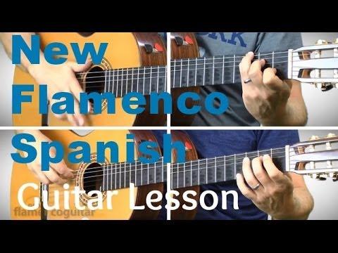New Flamenco Spanish Guitar Lesson - Unspoken Desires - Rumba Strum ...