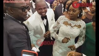Oba Elegushi's Brother & His Wife Made People Scream As They Dance Their Way To Their Royal Seat