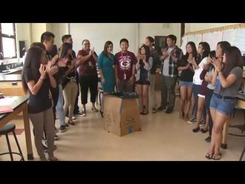 HI Achiever - Gary Calzada from Farrington High School