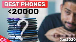 TOP 5 BEST PHONES UNDER 20000 In JANUARY 2020 | Sabse Best Kaunsa? | GT Hindi