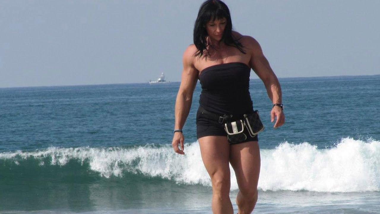 смотреть видео мускулистых женщин