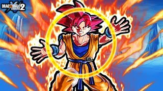NEW GOD BIND GOKU TECHNIQUE! Dragon Ball Xenoverse 2 Transforming God Goku & Vegeta Custom Skills