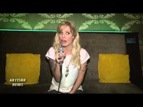 GIN WIGMORE WARPED PREVIEW INTERVIEW - BRINGS NEW ZEALAND ROCK ON TOUR