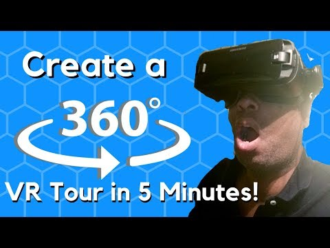 Learn How To Create An interactive 360 VR Tour in 5 Minutes!