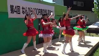 20170723 南平岸商店街夏祭り 北海道ご当地アイドル フルーティー.