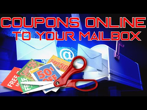 SAVE MONEY NOW! How to get Coupon Inserts online & shipped right to your door!